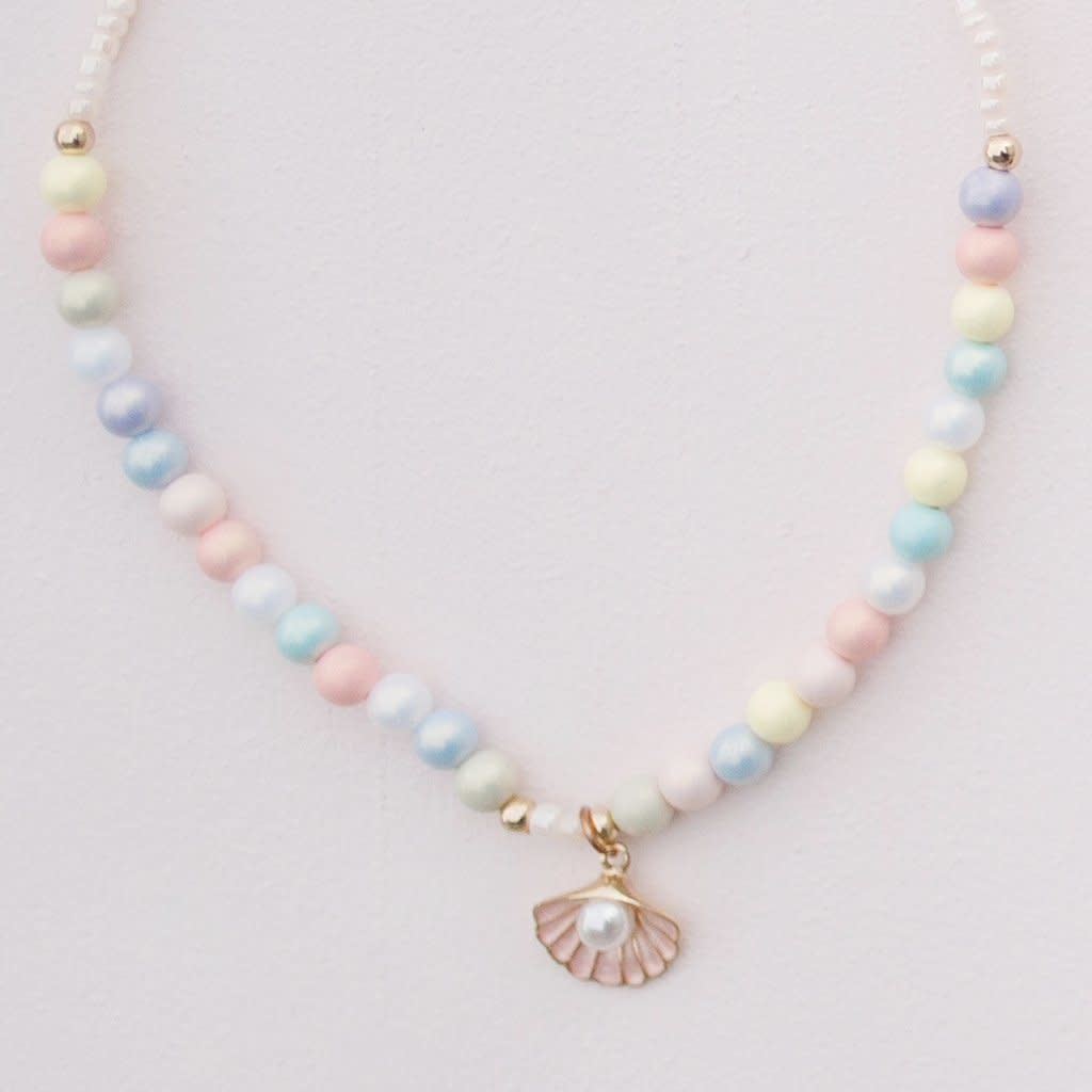 Pastel Shell Necklace-2