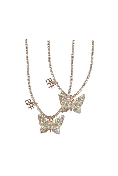 BFF Butterfly Necklace Set
