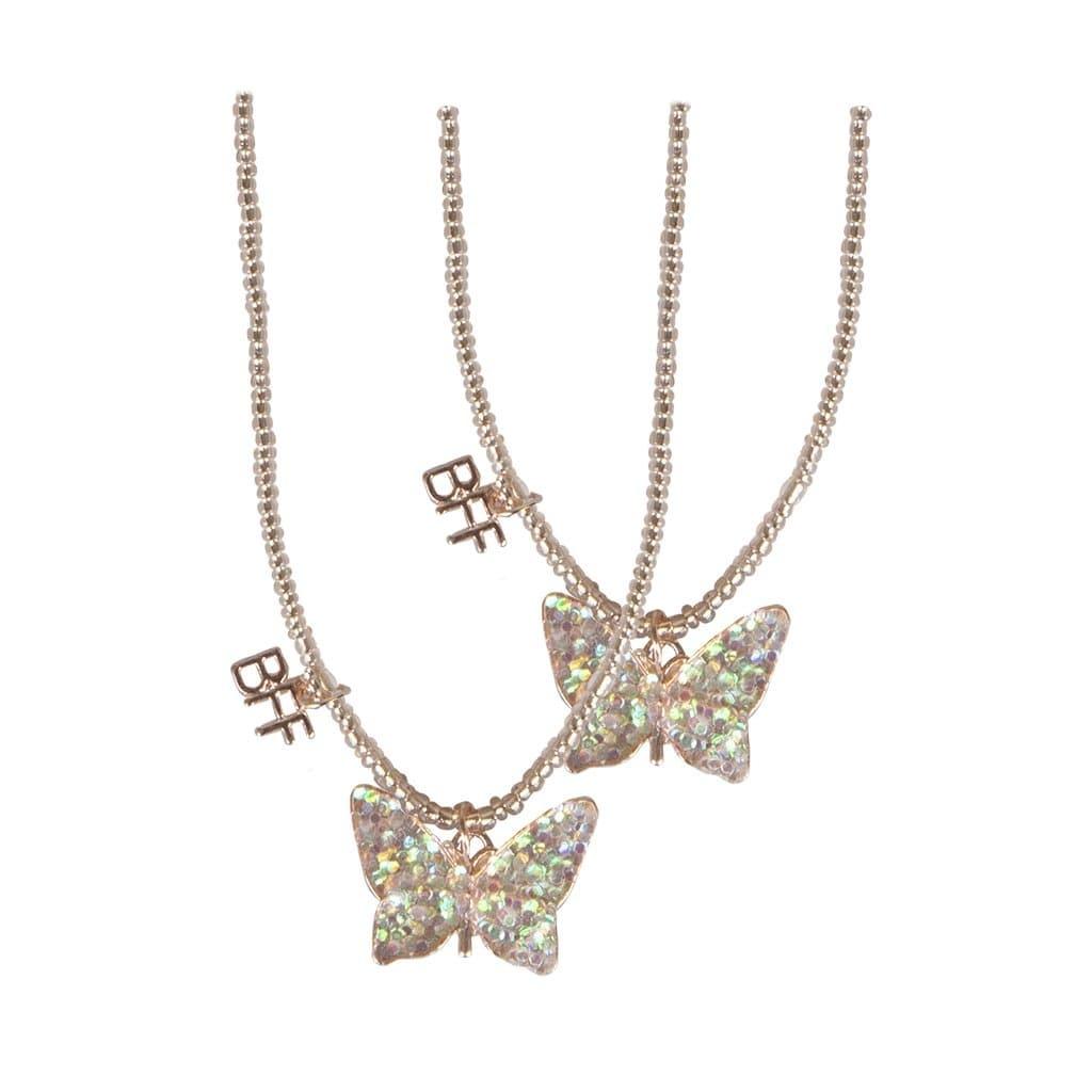 BFF Butterfly Necklace Set-1