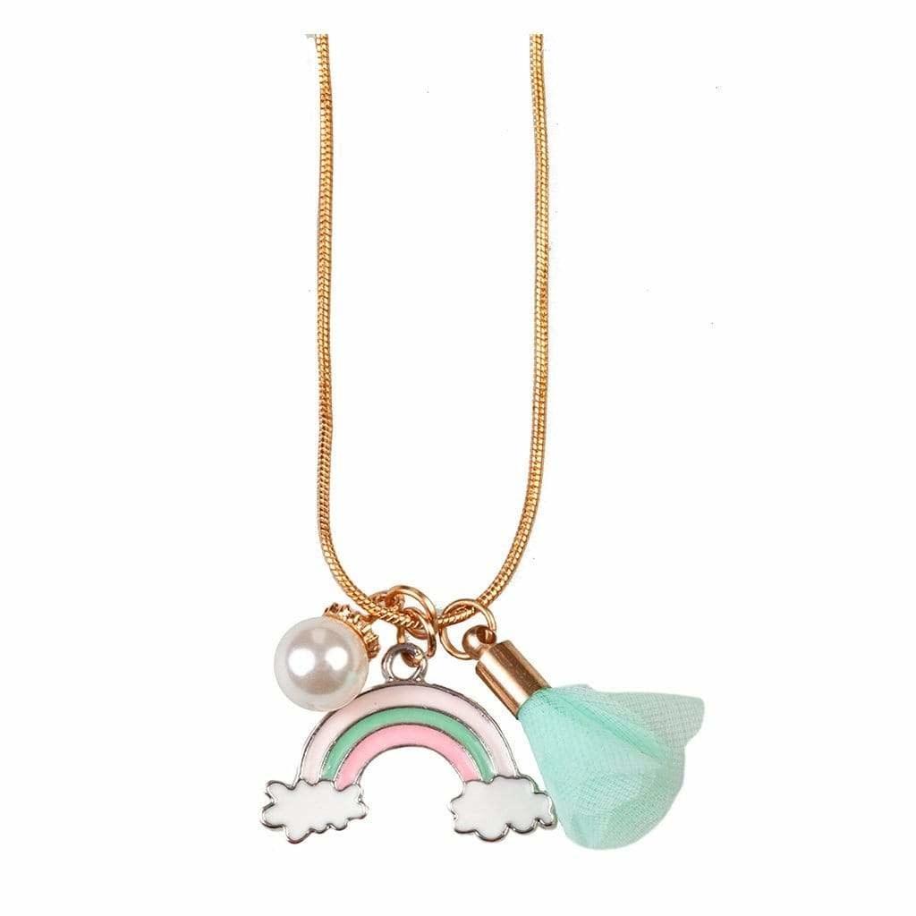 Rainbow Tassel Necklace-1