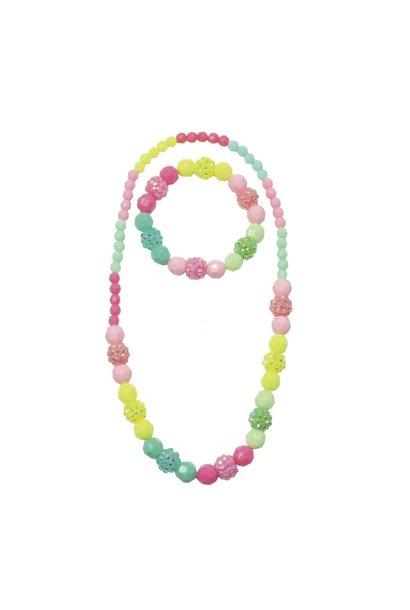 Vividly Vibrant Necklace/Bracelet Set