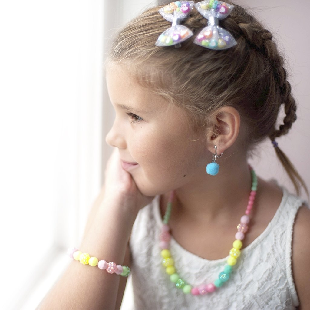 Vividly Vibrant Necklace/Bracelet Set-2