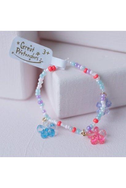 Shimmer Flower Bracelet