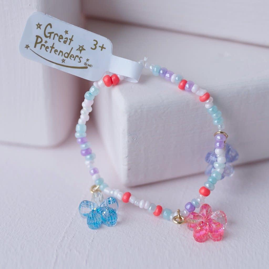 Shimmer Flower Bracelet-1