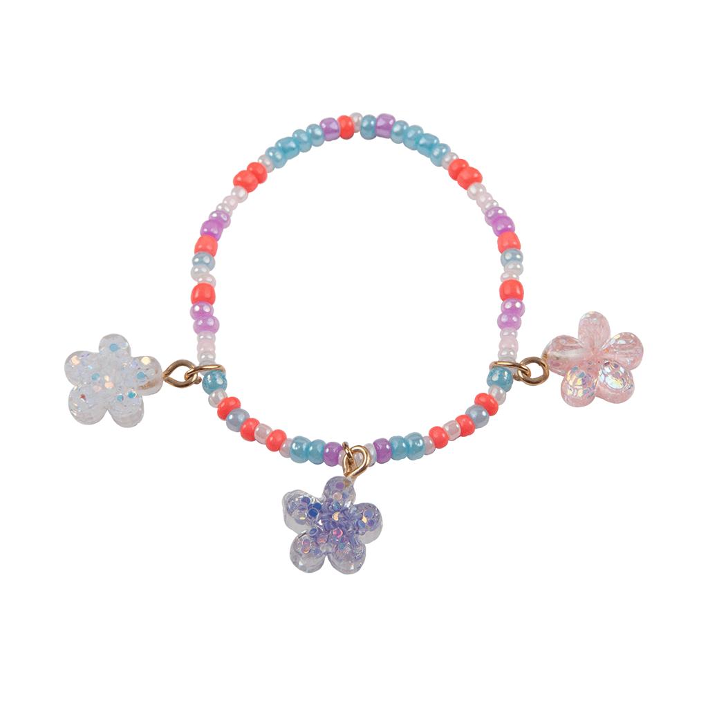 Shimmer Flower Bracelet-2
