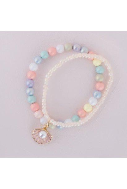 Pastel Shell Bracelet