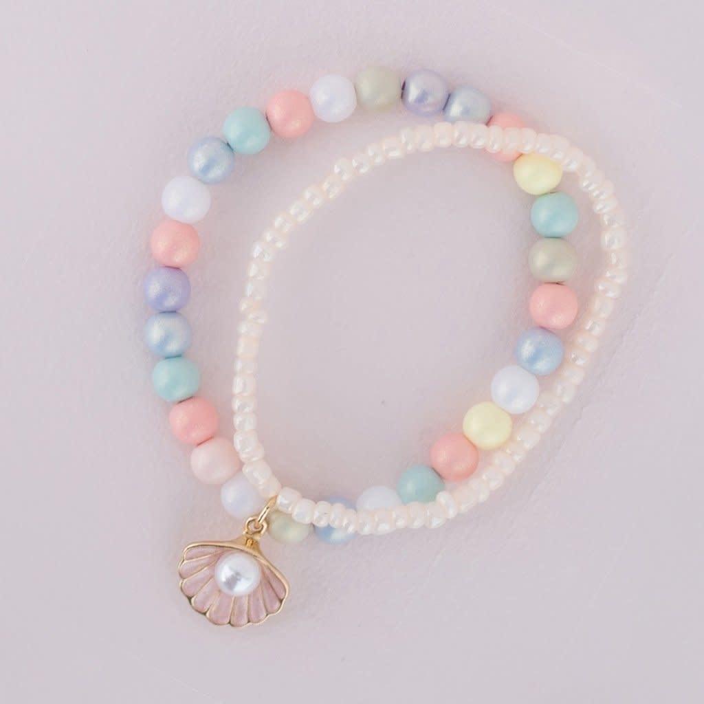 Pastel Shell Bracelet-1