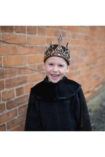 Medieval Crown (Black & Gold)
