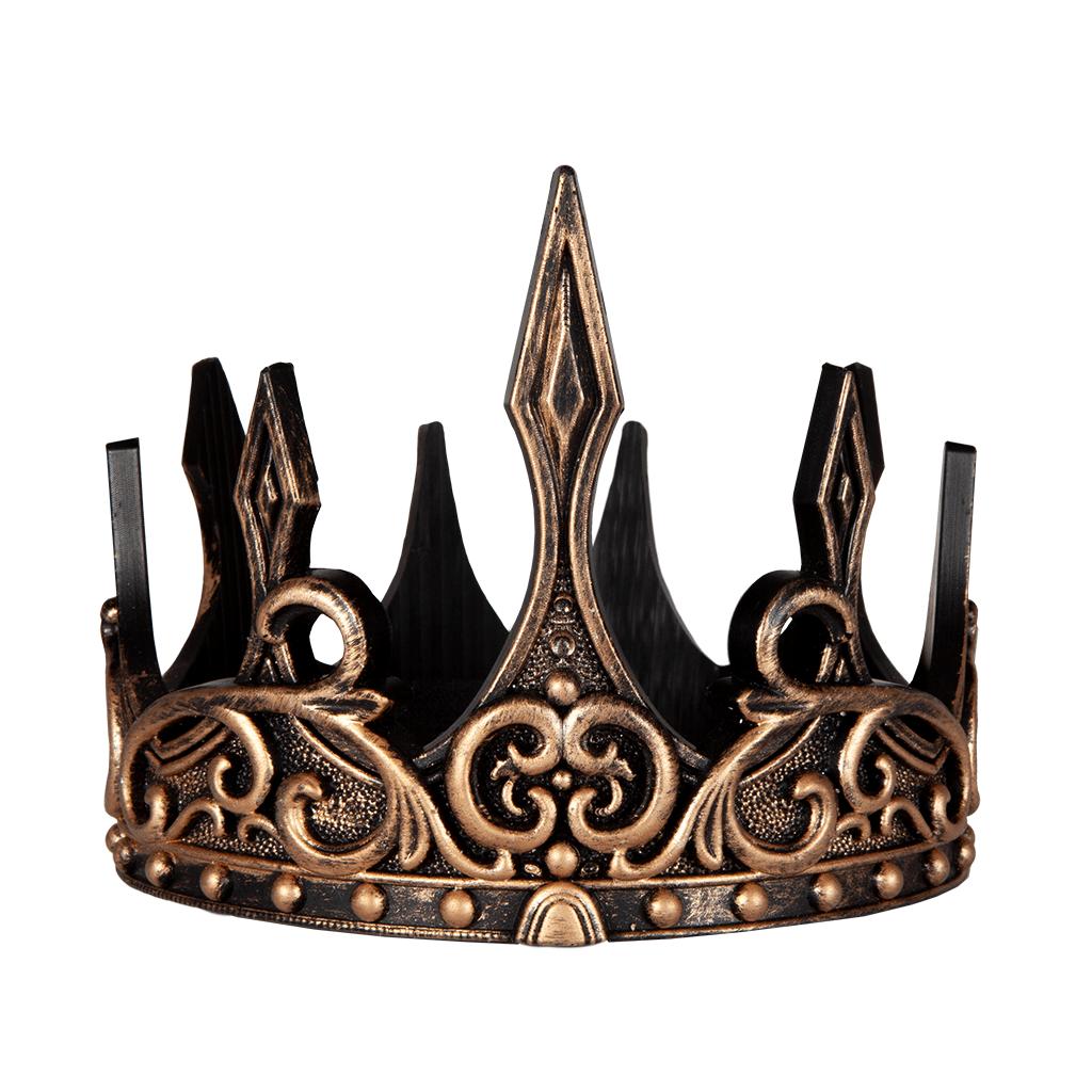 Medieval Crown (Black & Gold)-2