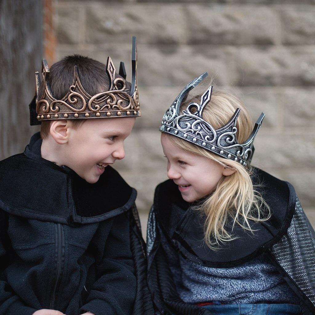 Medieval Crown (Black & Gold)-4