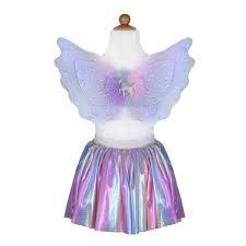 Unicorn Skirt & Wings-1