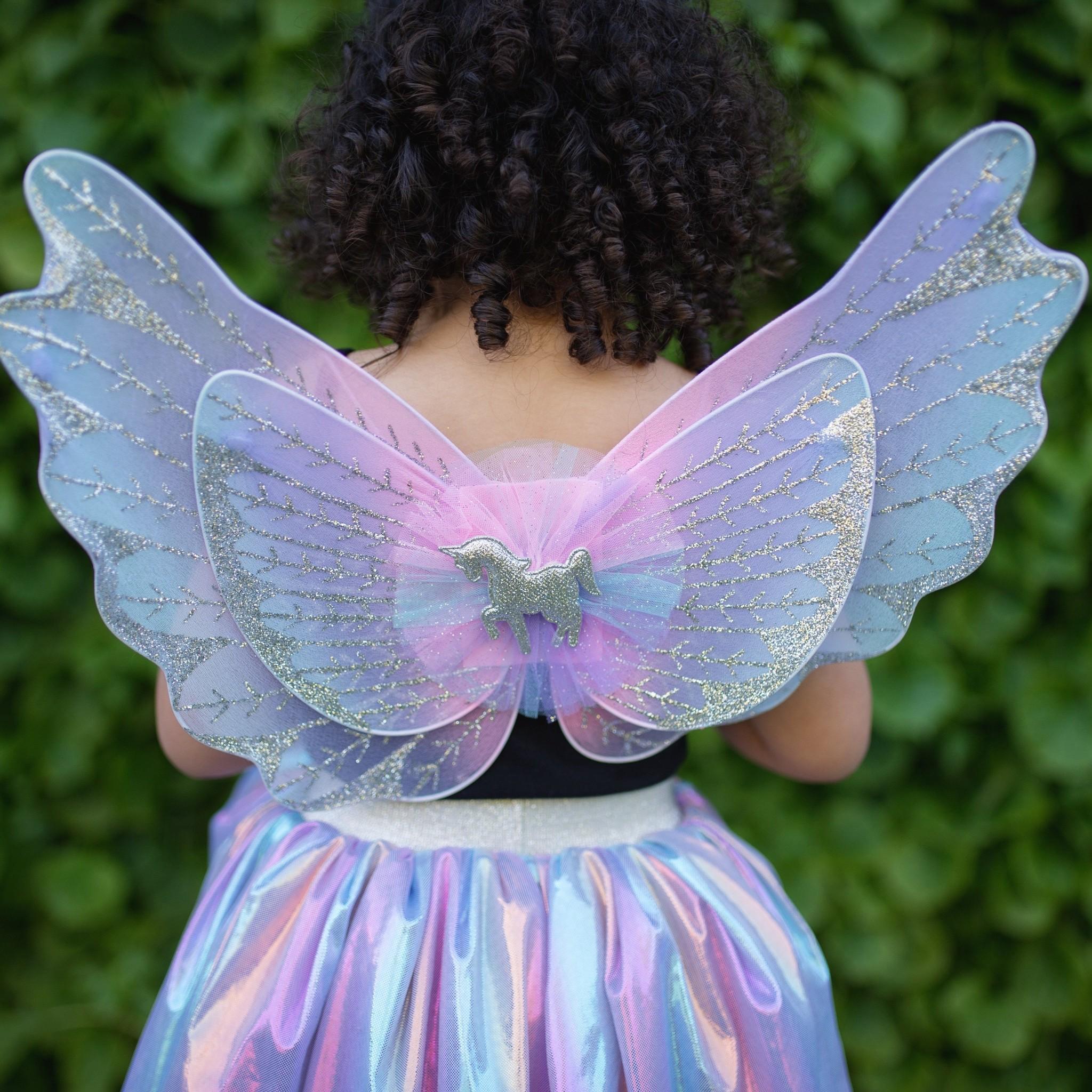 Unicorn Skirt & Wings-2