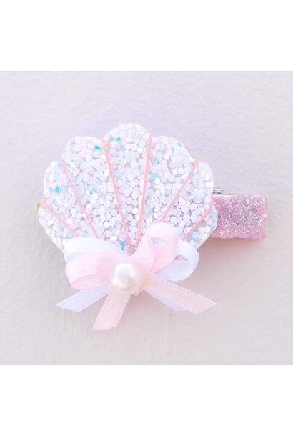 Sparkle Shell Hair Clip
