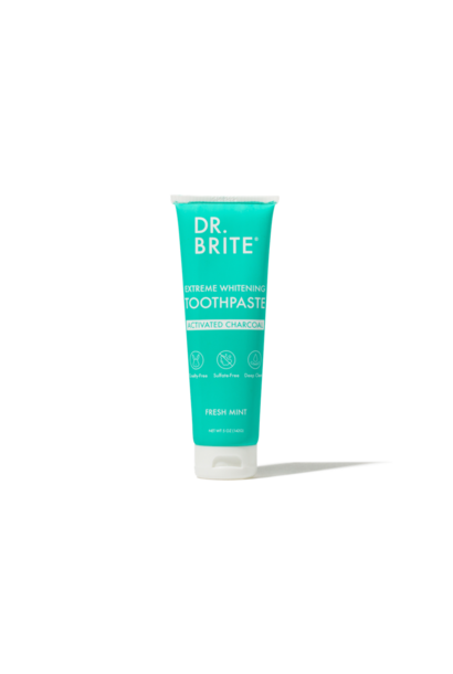 Natural Activated Charcoal Whitening Toothpaste - Mint