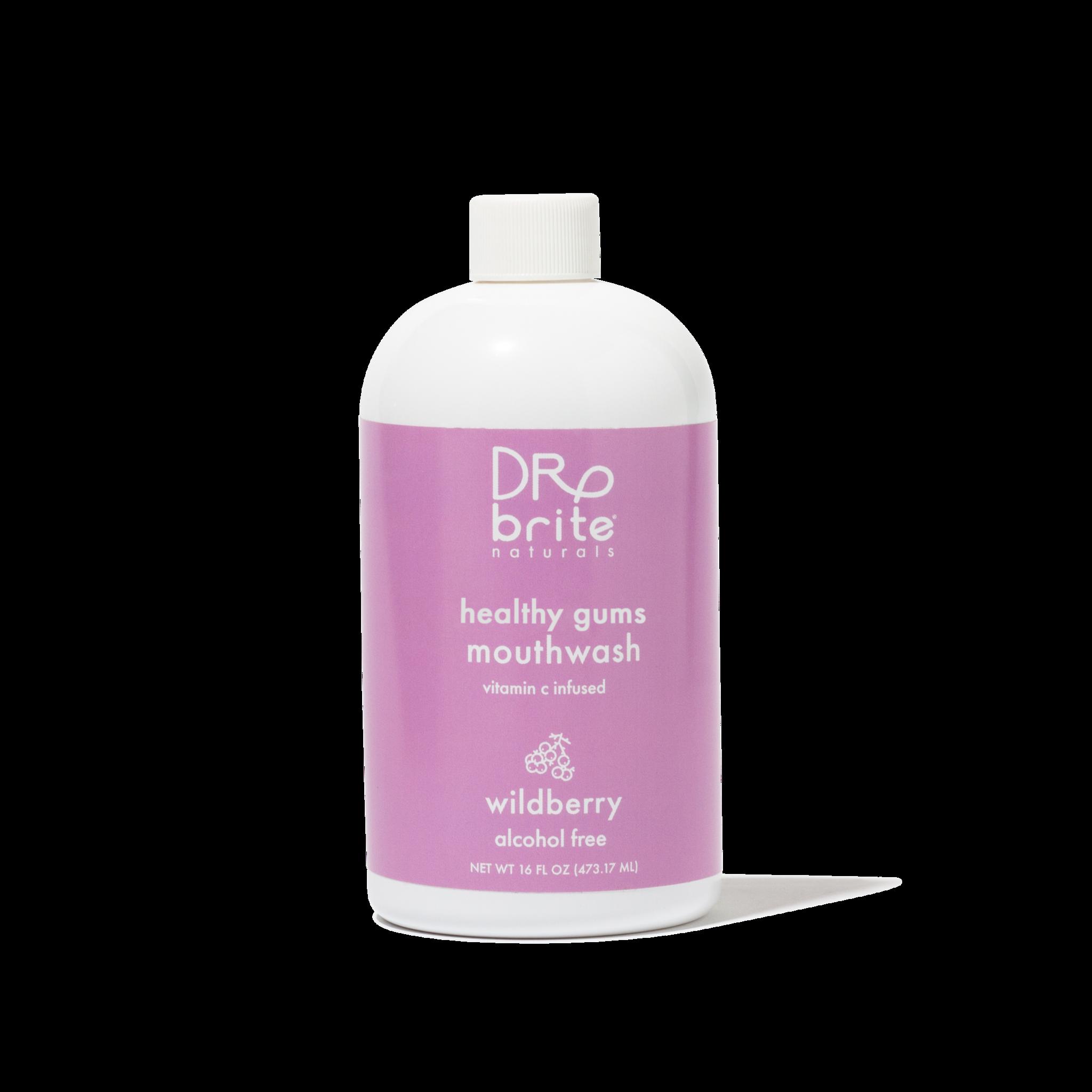 Natural Whitening Mouthwash - Wildberry-1