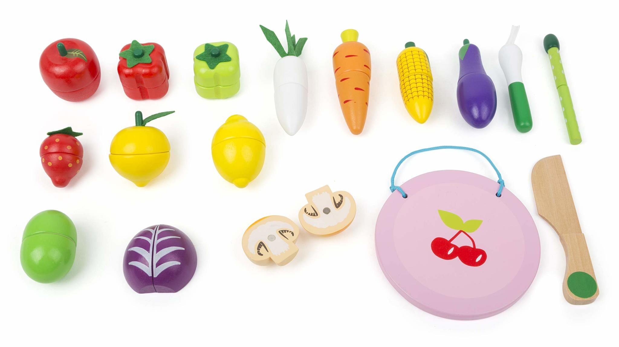 Cuttable Magnetic Fruit & Vegetable Set-1