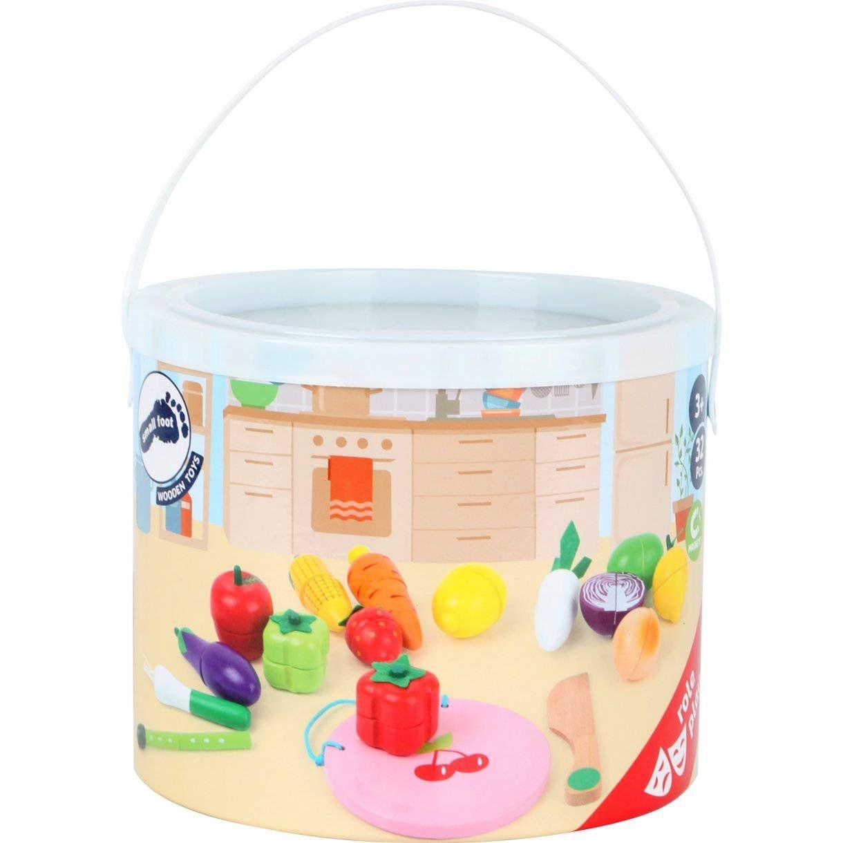 Cuttable Magnetic Fruit & Vegetable Set-2