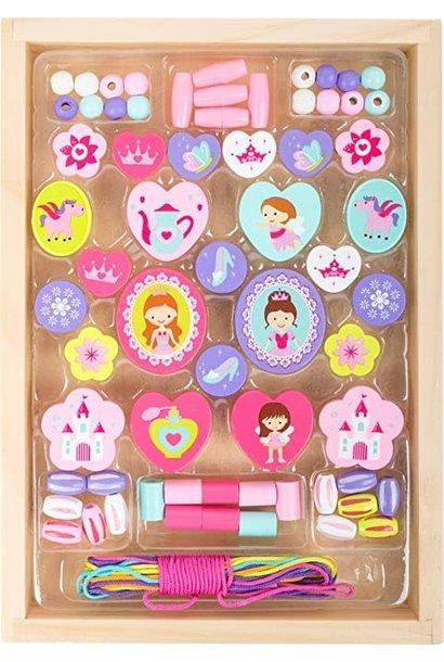 Princess Themed Threading Beads