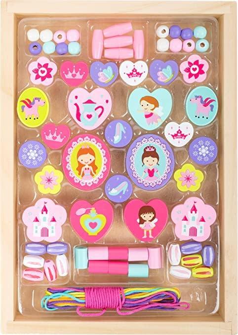 Princess Themed Threading Beads-1