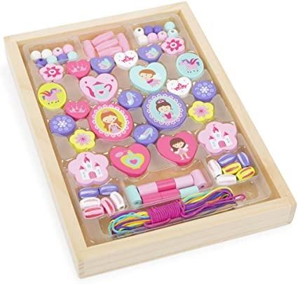 Princess Themed Threading Beads-3