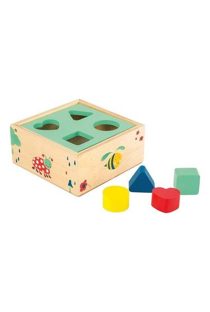 Shape Fitting Cube Playset