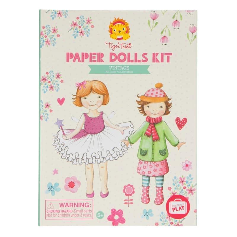 Vintage Paper Dolls Kit-1