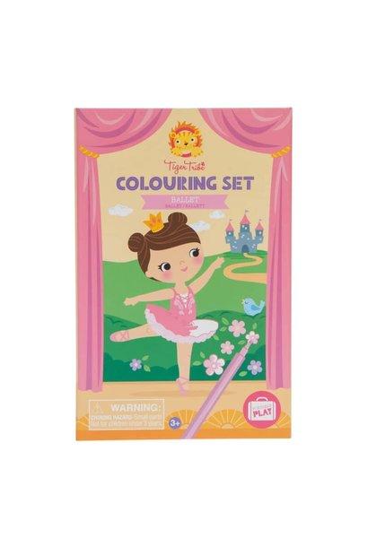 Colouring Set Ballet