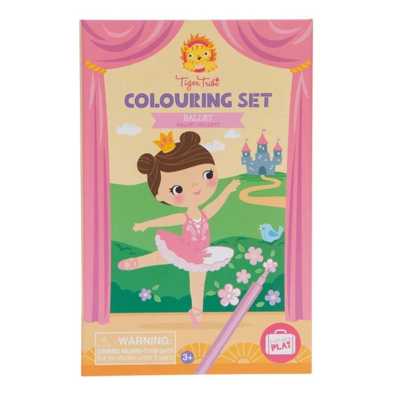Colouring Set Ballet-1