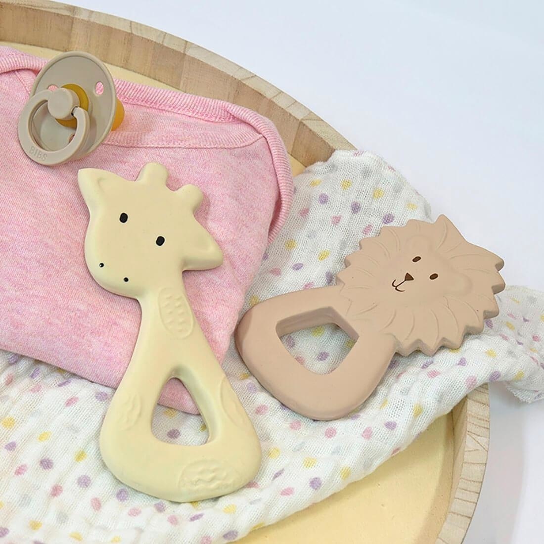 Lion - Organic Natural Rubber Teether-2