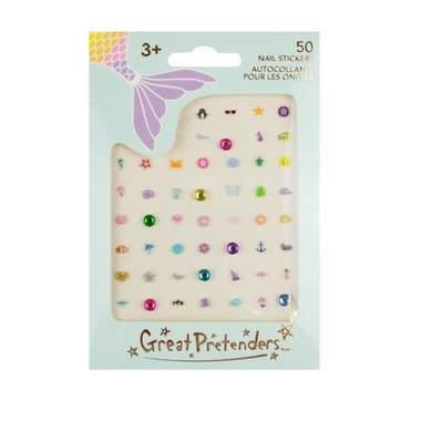 Mermaid Nail Stickers-1