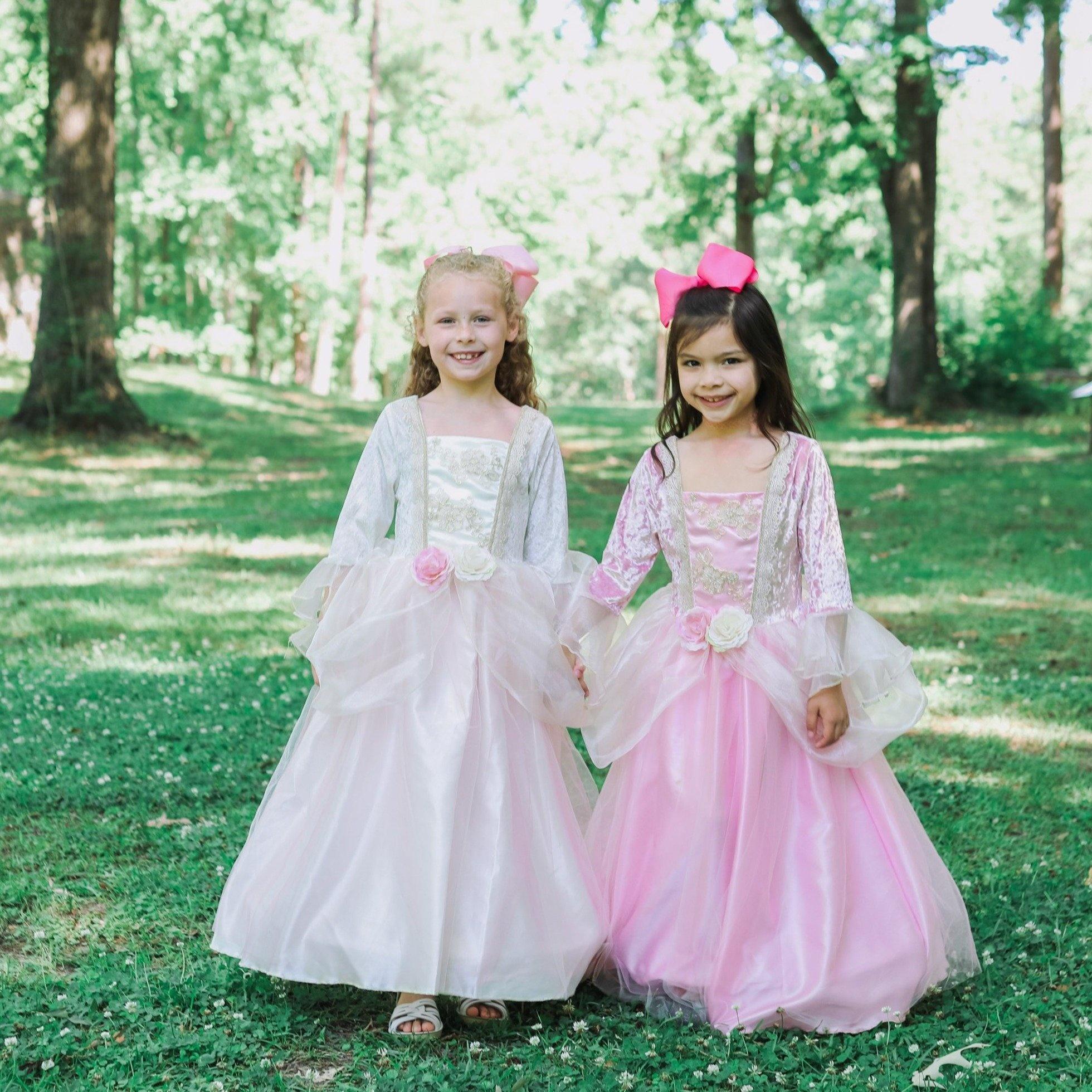 Pink Rose Princess Dress-2