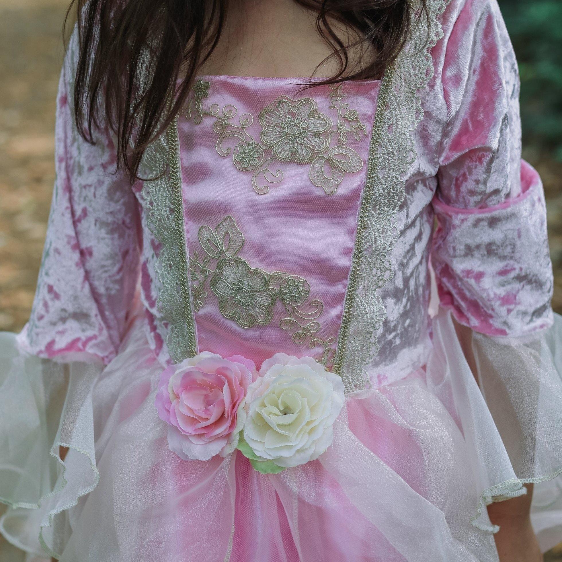 Pink Rose Princess Dress-3