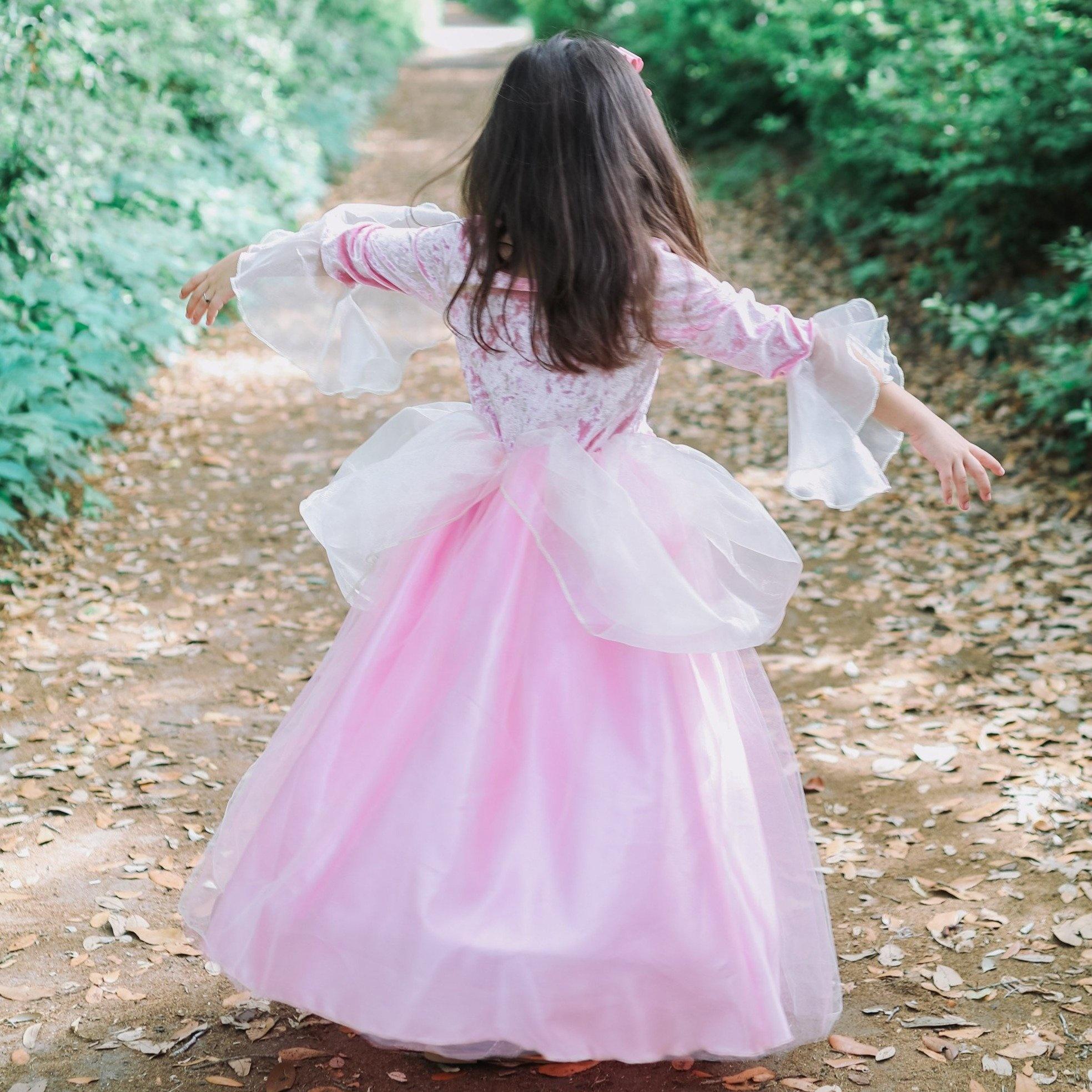 Pink Rose Princess Dress-4