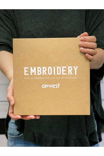 Embroidery Kit (DIY)