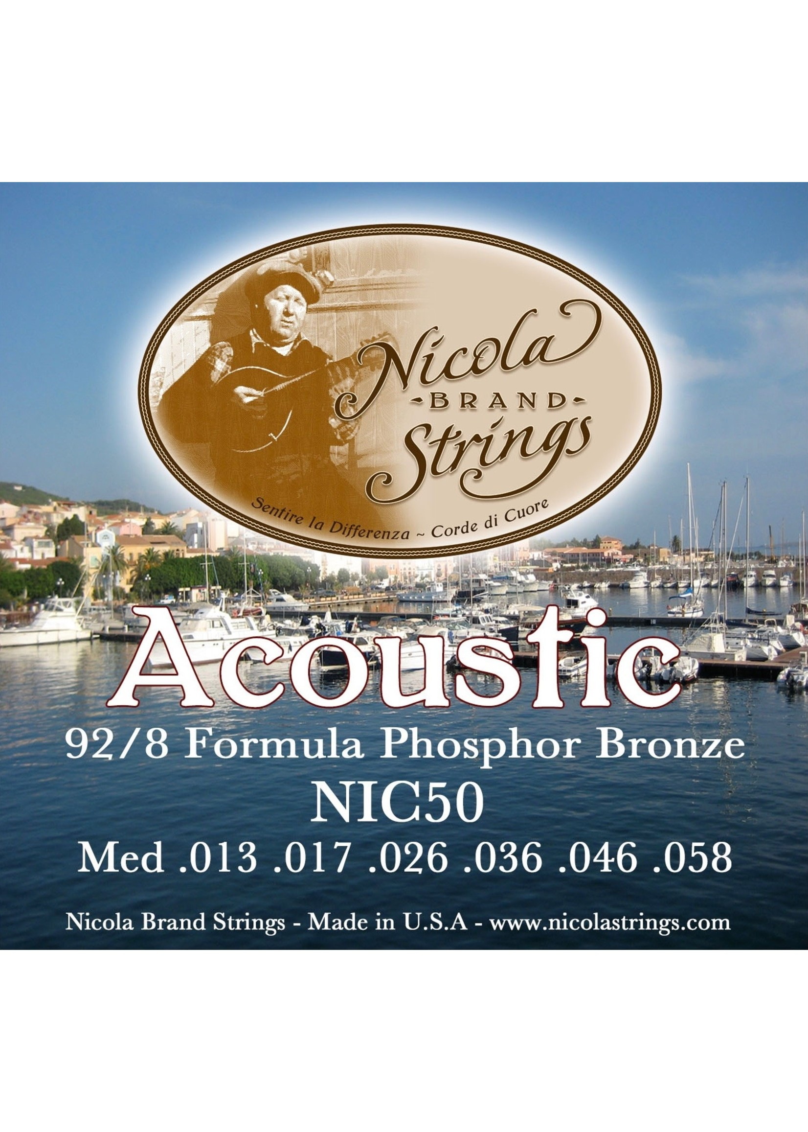 Nicola Nicola  NIC50 Mediums