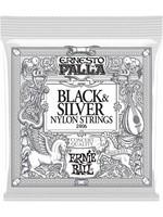 ERNIE BALL ERNIE BALL 2406 BLACK & SILVER NYLON STRINGS