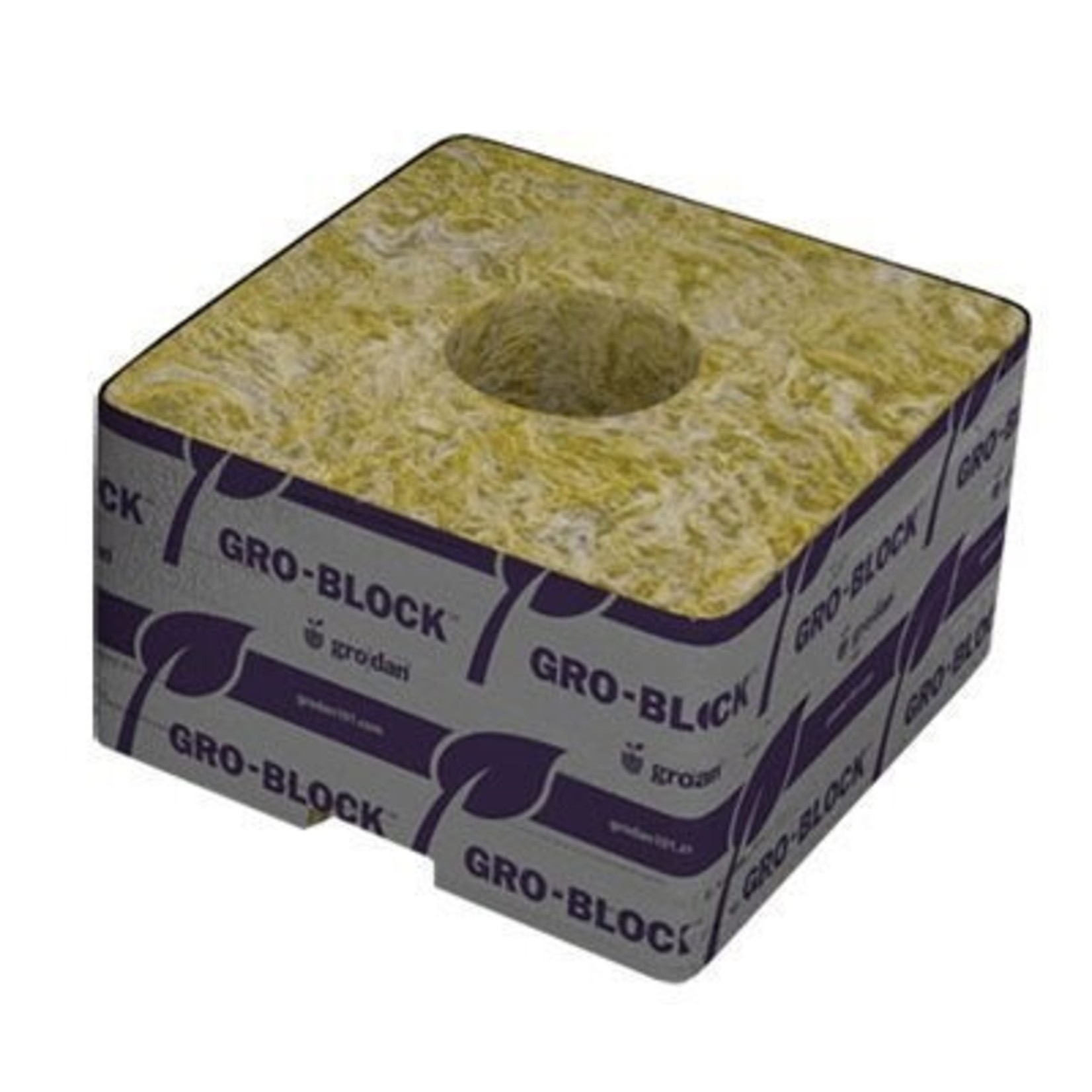 """Grodan GRODAN GRO-BLOCKS DELTA 3''X3""""X2.5"""" case 384"""