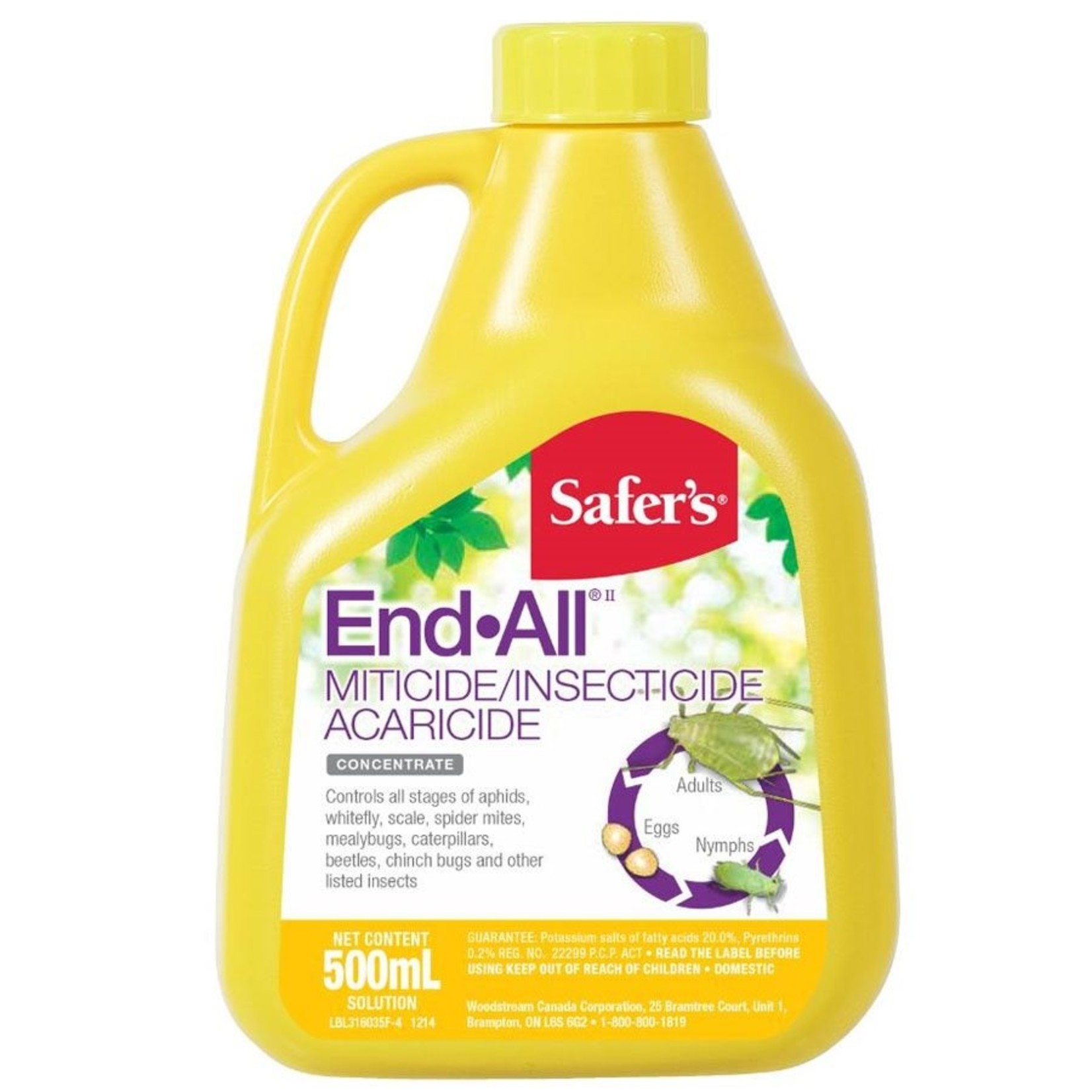 SAFERS SAFER'S END-ALL CONCENTRATED INSECTICIDE 500 ML (1)