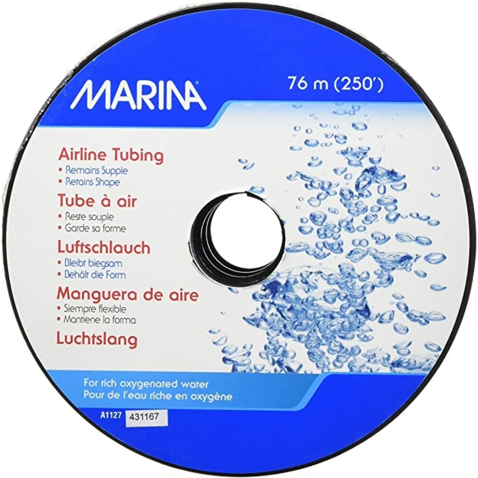 "Marina MARINA FLEXAIR AIRLINE TUBING 1/4"""