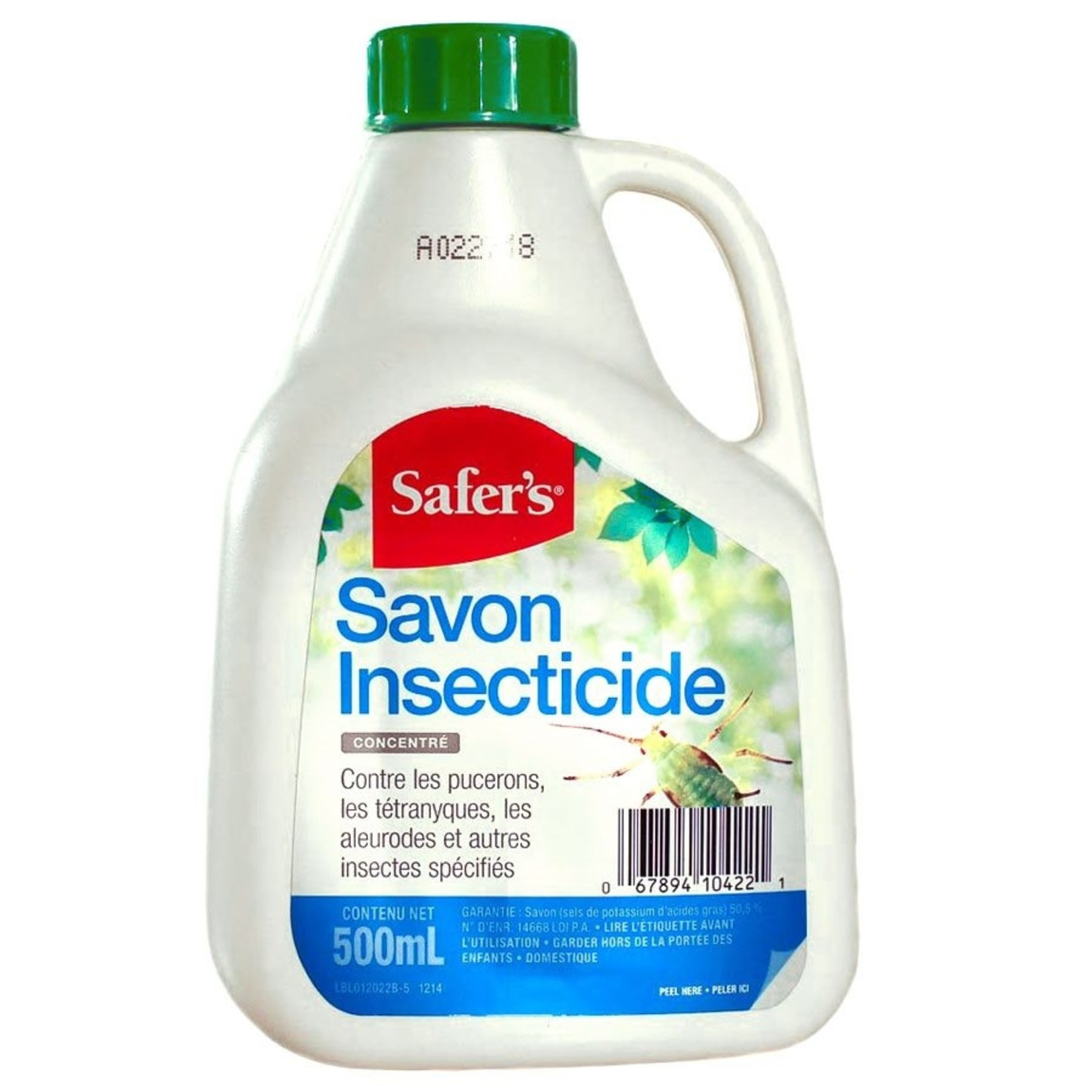 SAFERS SAFER'S CONCENTRATED INSECTICIDAL SOAP 500 ML