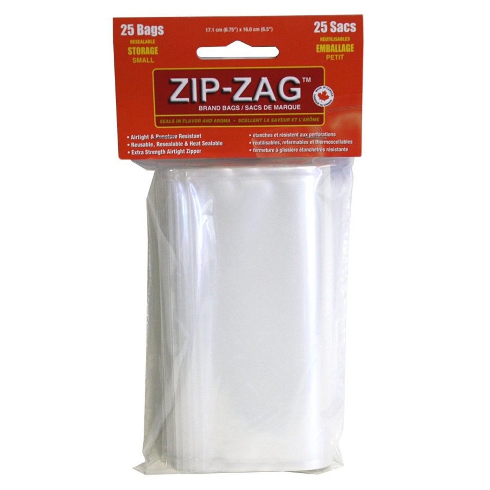 zip-zag ZIP ZAG SANDWICH BAGS 25