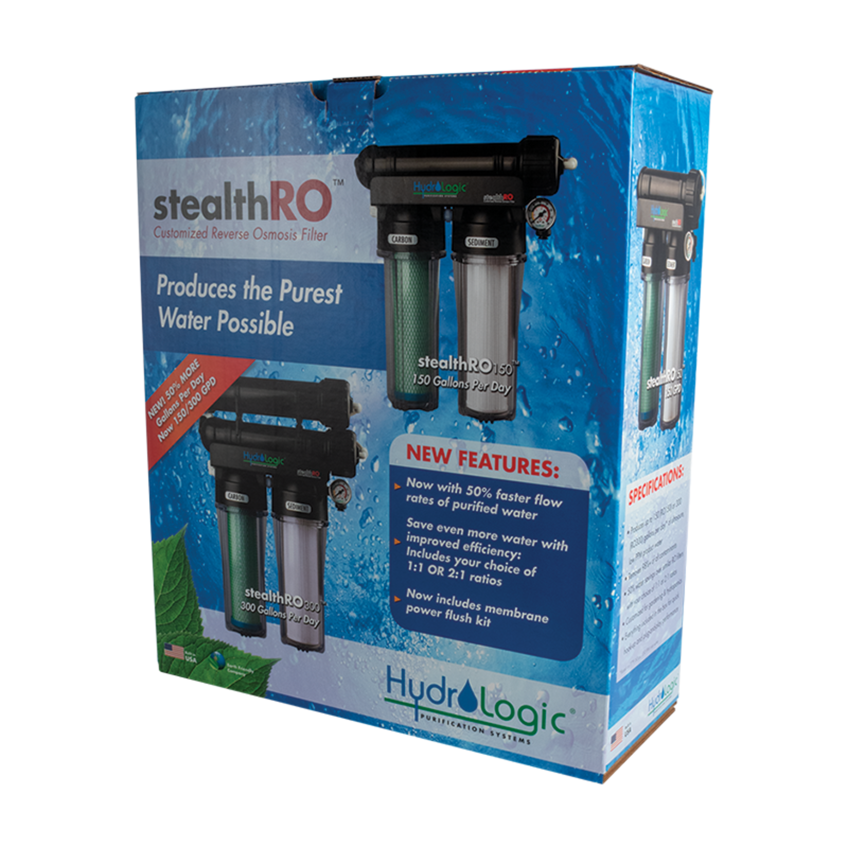 Hydrologic HYDROLOGIC STEALTH-RO300 GPD REVERSE OSMOSIS