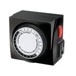 TimeMaster Mechanical Timer 120V 2 Outlets Max 15A