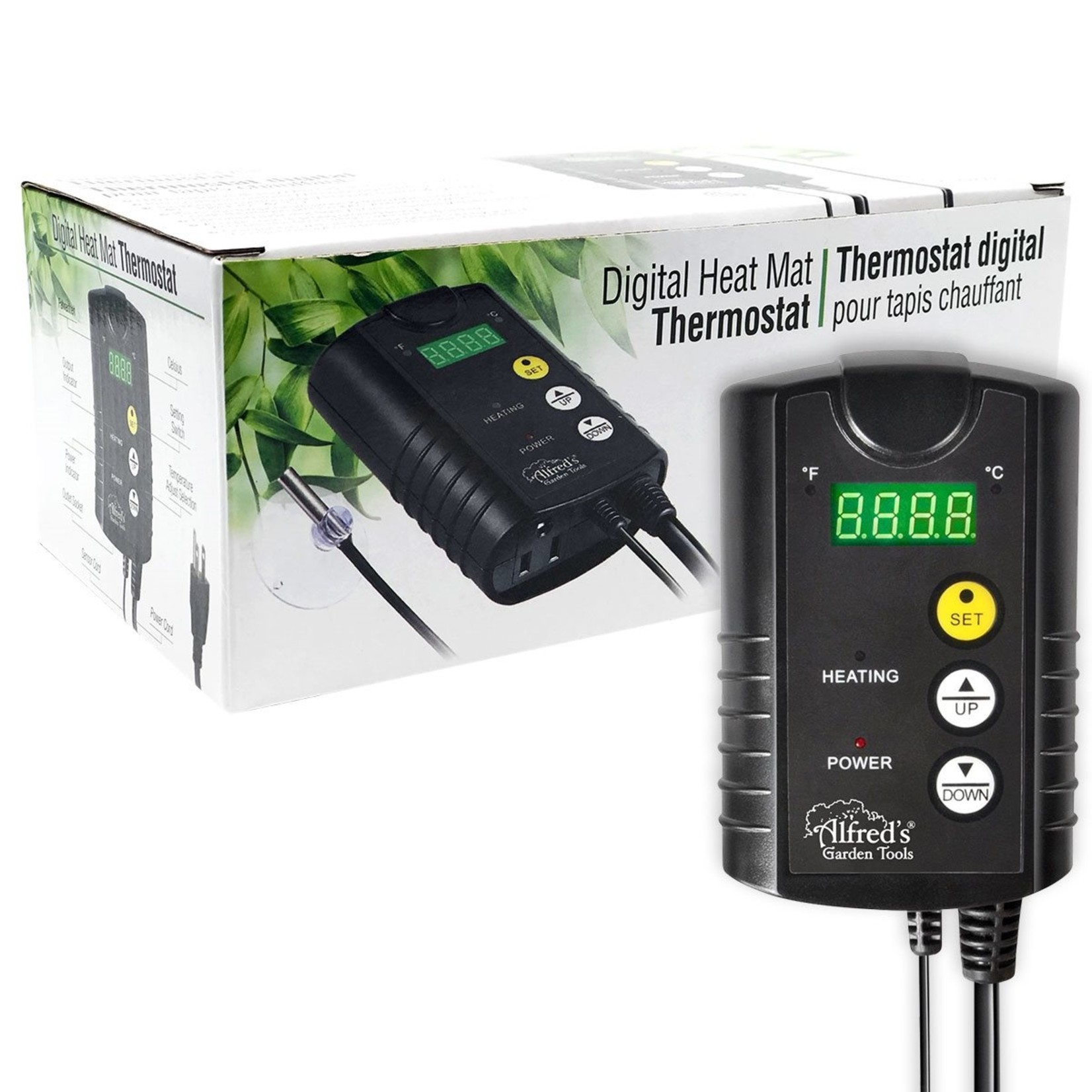 Alfred Alfred Digital Temp Controller for Heat Mat
