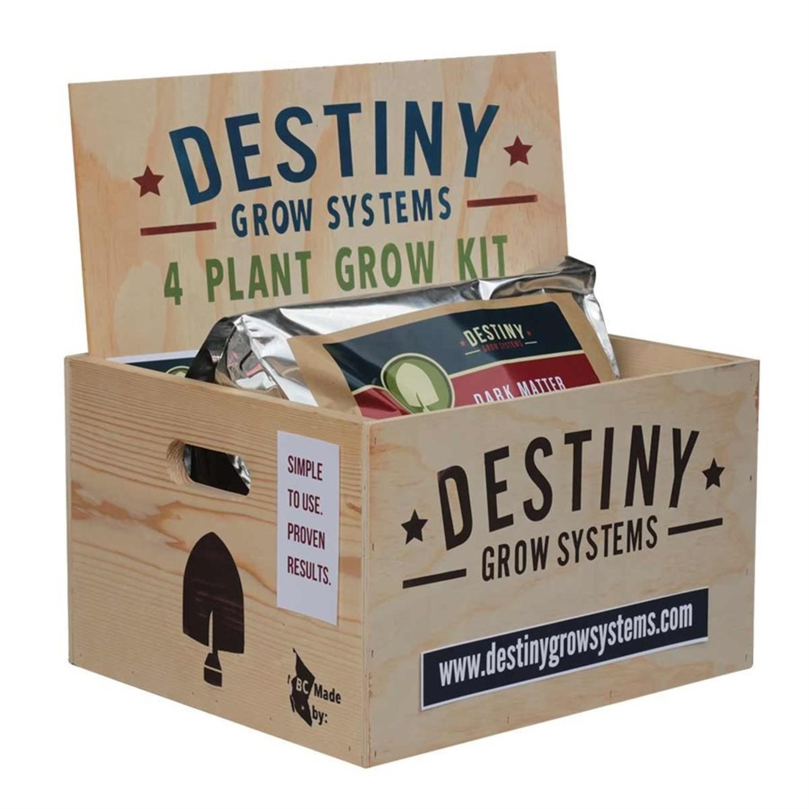 destiny DESTINY GROW KIT 4 PLANTS
