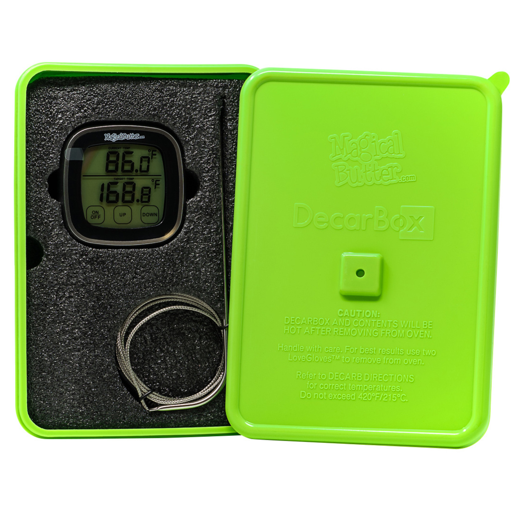 magical butter MagicalButter DecarBox / Thermometer Combo
