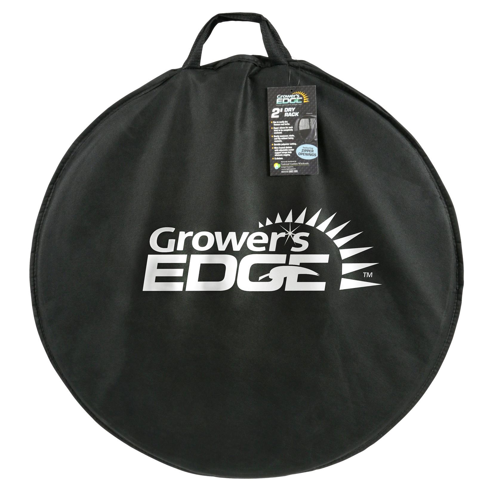 growers edge Grower's Edge Dry Rack Enclosed w/ Zipper Opening - 2 ft
