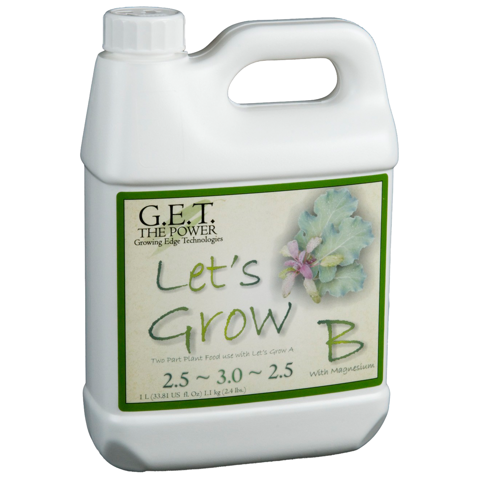 G.E.T. Nutrients Lets Grow B