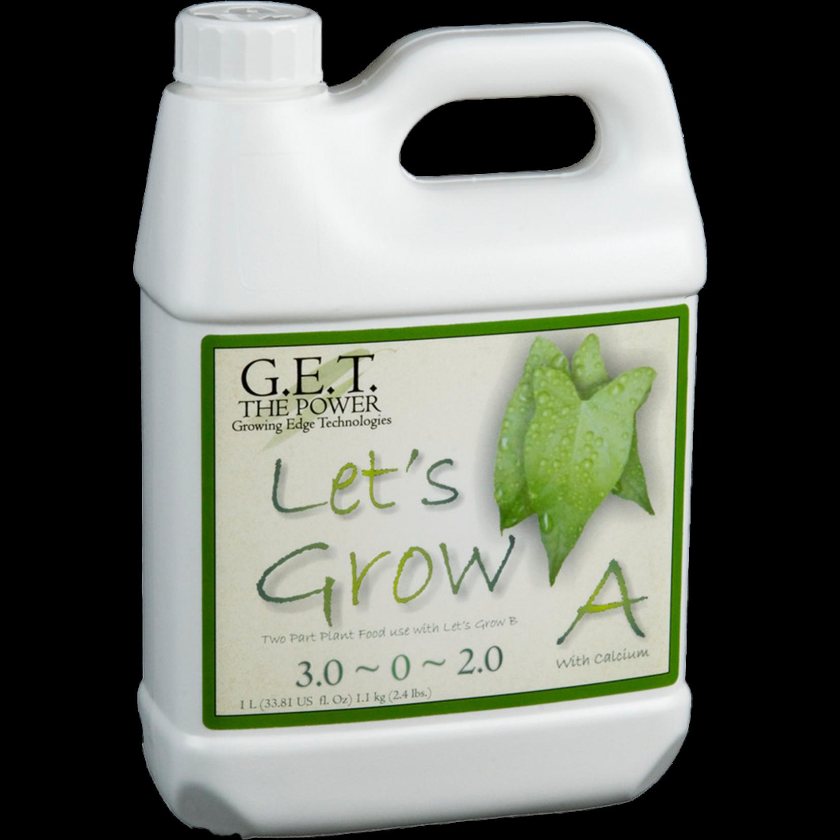 G.E.T. Nutrients Lets Grow A
