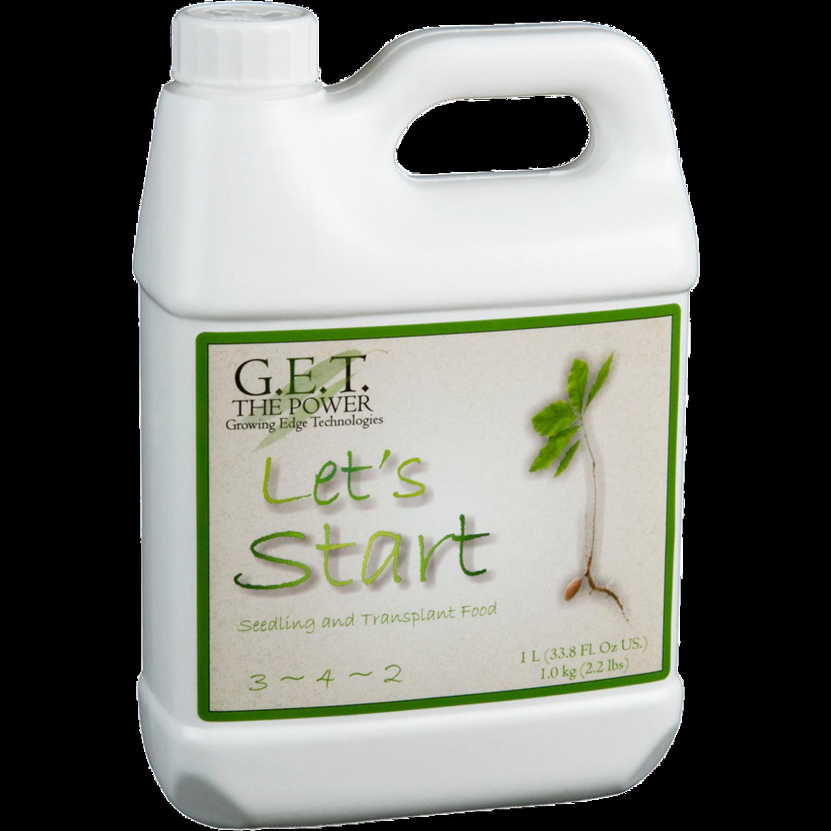 G.E.T. Nutrients Lets Start